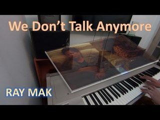 Charlie Puth Ft  Selena Gomez - We Don't Talk Anymore Piano by Ray Mak