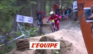 Pierron devance Bruni aux Gets - VTT - CM (H)