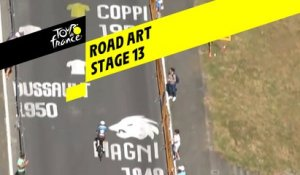 Road Art - Étape 13 / Stage 13 - Tour de France 2019