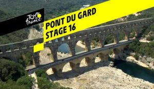 Pont du Gard - Étape 16 / Stage 16 - Tour de France 2019