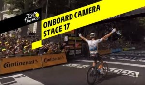 Onboard camera - Étape 17 / Stage 17 - Tour de France 2019