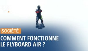 Comment fonctionne le Flyboard Air de Franky Zapata ?