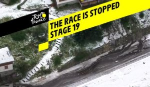 La course est arrêtée / The race has been stopped - Étape 19 / Stage 19 - Tour de France 2019