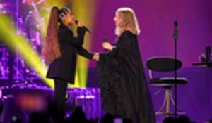 Ariana Grande Makes Surprise Appearance at Barbra Streisand's Chicago Concert | Billboard News
