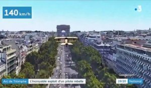 Aviation : l'incroyable exploit du pilote qui a volé sous l'Arc de triomphe