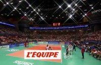 Victoire de l'équipe de France face à la Tunisie - Volley - TQO