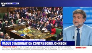 Grande Bretagne: une vague d'indignation contre Boris Johnson