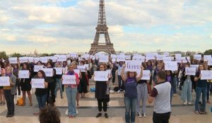 Féminicides : un rassemblement à Paris contre les violences conjugales