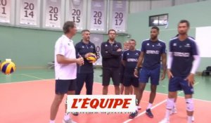 La causerie de Laurent Tillie avant France-Roumanie - Volley - Euro 2019