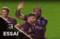 TOP 14 - Essai Lekso KAULASHVILI (UBB) - Bordeaux-Bègles - Paris - J4 - Saison 2019/2020