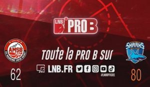 Leaders Cup PRO B : Aix-Maurienne vs Antibes (J1)