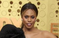 Laverne Cox Supports LGBTQ Workers at the Emmys