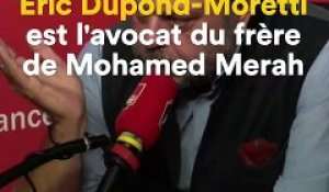 Eric Dupond-Moretti sur France Inter
