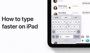 How to use QuickPath to type faster on your iPad - Apple Support