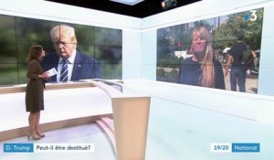 Le processus de destitution de Donald Trump a-t-il une chance d'aboutir ?