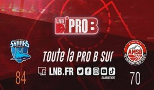 Leaders Cup PRO B : Antibes vs Aix-Maurienne (J3)