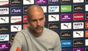 "8e j. - Guardiola : ""Plus de commentaires sur l'affaire Silva"""