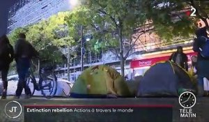 Extinction Rebellion : des actions à travers le monde pour le climat