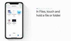 Comment compresser et décompresser des documents dans Fichiers sur iPhone, iPad ou iPod touch - Apple Support
