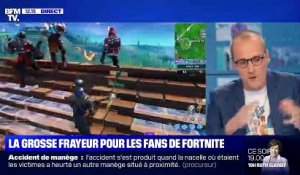 Fortnite a disparu - 15/10