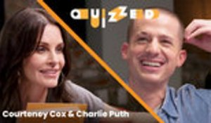 Courteney Cox Quizzes Charlie Puth on 'Friends' Trivia | Quizzed