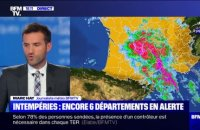 Intempéries: encore six départements en alerte orange - 23/10