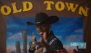 Lil Nas X's 'Old Town Road' Becomes Fastest Song in History to Be Certified Diamond by the RIAA | Billboard News