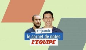 De Yazici à Di Maria, le carnet de notes de la 11e journée - Foot - L1