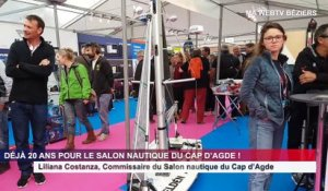 LE CAP D'AGDE - Salon nautique 2019 : Interviews de Liliana Costanza et d'Yvan Bourgnon