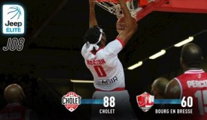 Jeep® ÉLITE : Cholet vs Bourg-en-Bresse (J8)