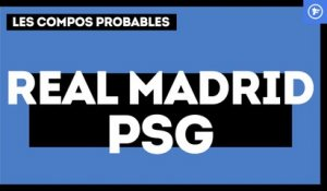 Real Madrid-PSG : les compos probables