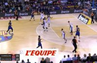 Barcelone battu à domicile par le CSKA - Basket - Euroligue (H)