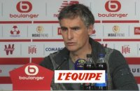 Dall'Oglio «On n'a pas eu trop de chance» - Foot - L1 - Brest