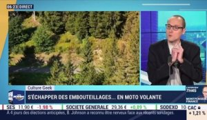 Culture Geek : S'échapper des embouteillages en moto volante par Anthony Morel - 09/11