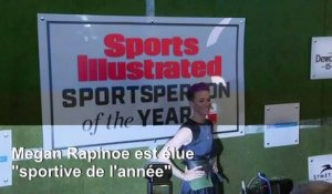 "Megan Rapinoe élue ""sportive de l'année"" par Sports Illustrated"