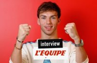 «Le plus rapide ? Pierre Gasly» - F1 - Interview