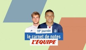 D'Andersen à Mbappé, le carnet de notes de la 18e journée - Foot - L1