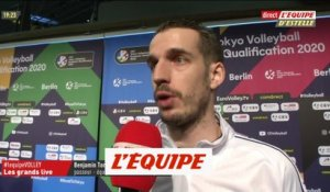 Toniutti «Un bon point» - Volley - TQO Berlin - Bleus