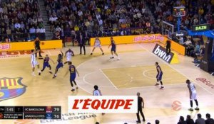 Barcelone s'incline à domicile - Basket - Euroligue