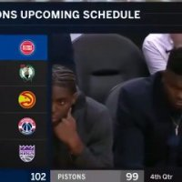 Zion Williamson s'endort sur le banc en plein match