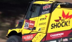 Dakar 2020 Stage 12 : Les temps forts - camions