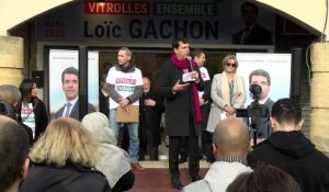 Vitrolles : inauguration du local de campagne de Loïc Gachon