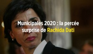 Municipales 2020 : la percée surprise de Rachida Dati