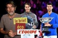 Les « prize money » des Grands Chelems donnent le tournis - Tennis - Brief Eco