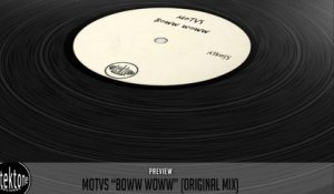 MOTVS - Boww Woww (Original Mix) - Official Preview (Autektone Records)