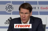 Garcia «On a fait le job» - Foot - L1 - OL