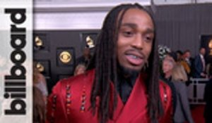 Quavo Teases Migos' 'Culture 3' Release and Talks Cardi B and Offset Chemistry | Grammys 2020