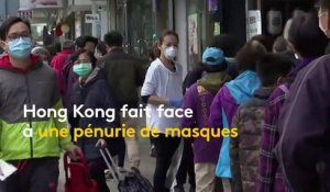 Coronavirus : distribution solidaire à Hong Kong