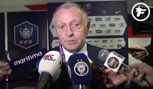 Coupe de France : Jean-Michel Aulas est aux anges