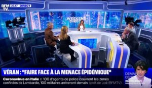 """La France face à la menace épidémique"", Véran (2/2) - 23/02"